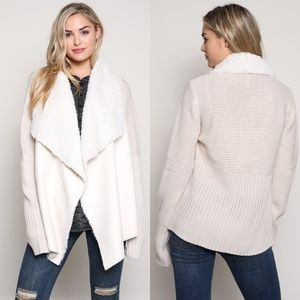 Sweaters - 'Elisa' Draped Cardigan
